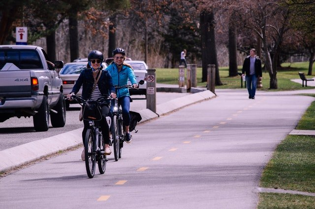 People are now switching to bicycle